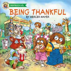 Being Thankful by @MercerMayer ~ A Juvenile Fiction Review and #Giveaway @tommynelson