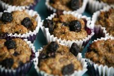 Antioxidant-rich Blueberry Muffins - for dogs!