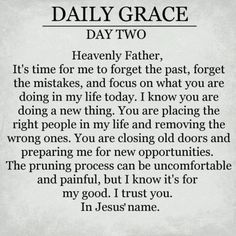 .Daily Grace Day Two