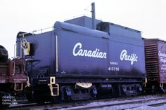415791 Unit Number: 415791 Ex: CP Builder: Type: Water Car Built Date: Location: Capreol, ON Date: October 1966 Photographer: Don Jaworski Old Train Pictures, Canadian Pacific Railway, Choo Choo Train, Steam Engine, Big Trucks, Locomotive, Tractors, Track, The Unit