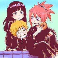 Bleach// Kazui, Nemu and Ichika