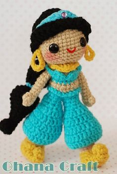 Jasmine-03 by Ohana Craft, via Flickr.