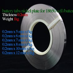 0.2mm X Greutate 1kg baterii fileu plăcuță nichel