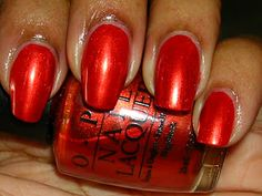 OPI - Red Hot Holiday - bl