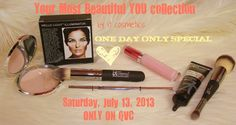 Fashion Maven.... Mommy: It Cosmetics 'Your Most Beautiful You' ONE DAY SPECIAL on QVC!
