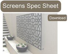 Screen Spec Sheet