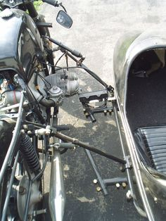 Spirit of America Eagle sidecar updated mounts