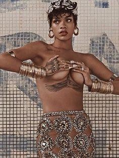 Rihanna'nın Vogue Brezilya Çekimleri