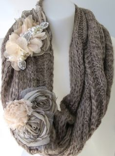 Erin Louise Scarf / Neck Warmers ♡♡♡