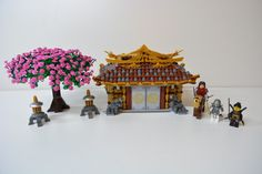 Recreate the old tales of traditional Japan with a highly detailed, yet realistic model of ancient Japanese architecture. Featuring one model that you can customize into an ancient shrine or a samurai dojo. Includes a cherry blossom tree, 2 decorative lanterns, and 3 minifigures with a horse. Designed with lots of exterior and interior details, advanced building techniques, and inside lights for displaying. Unlike previous dojos, this is geared more for adult fans and displaying. There is a…