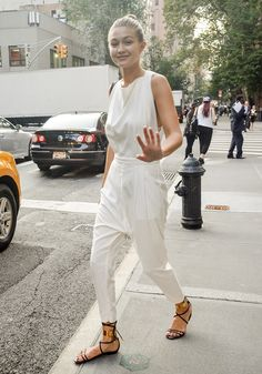 "ok-yeah-so: "" Gigi Hadid after Marc Jacobs fashion show - September 11, 2014 """