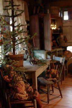 Love This Prim Christmas Tree......