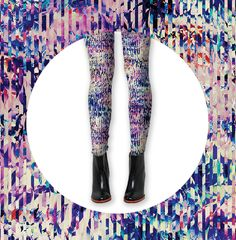 The Cotery x Pattern People - Cosmic Bloom Legging Collection