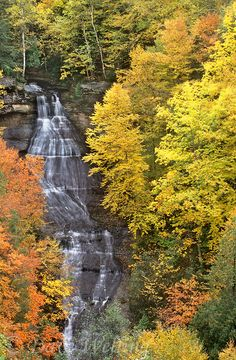 Chapel Falls, Upper Peninsula, Michigan (Not far from Pictured Rocks)