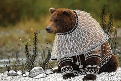 Animal Doodles es una serie de imágenes de distintos animales que encuentro en google y sobre ellos dibujo lo que me imagino.