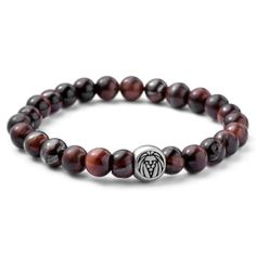 Buy Lucleon - Red Tigers Eye Bracelet for only Shop at Trendhim and get returns. We take pride in providing an excellent experience. Stone Bracelet, Bracelet Set, Paracord Bracelets, Bracelets For Men, Beaded Bracelets, Diamond Bracelets, Bangles, Buddha Armband, Diy Jewelry Making
