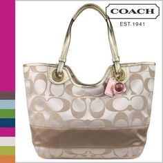 coach purse. $150 via ️ ️ very pretty authentic coach bec tote purse. currently taking offers. only used once. $150 via ️ ️ Coach Bags
