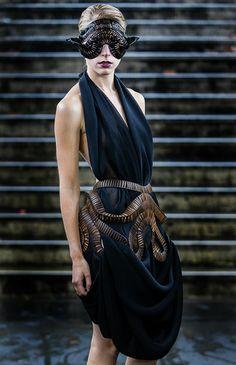 Stefanie Nieuwenhuyse at Vauxhall Fashion Scout Show 2012