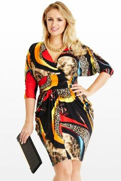 Atlanta Printed Dress