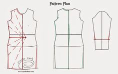 Fashion, design and pattern making.  A blog where you learn to design and use beautiful sketches with 'step-by-step' pattern instructions.