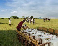 Horse riding at ol Donyo Lodge in Kenya