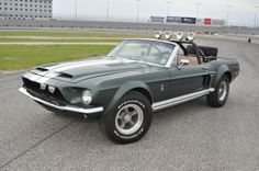 Mustang built to look like one from Thomas Crown Affair #WhiteMarshFord