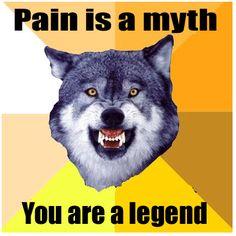 courage wolf meme - Căutare Google