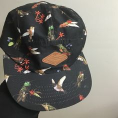 Empyre Bird Brain black 5 Panel Hat Barely worn from zumiez!  Make an offer ! Or let me know an I can post on Ⓜ️ercari for cheaper ! Accessories Hats
