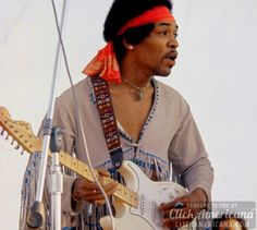 "It was not the first time Hendrix had performed the ""Star Spangled Banner"" — by a long shot. Description from clickamericana.com. I searched for this on bing.com/images"