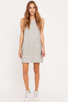 BDG Patch Pocket Grey Dress