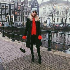 Caro Daur wearing the EQL hatin Amsterdam