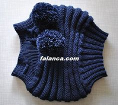This Pin was discovered by fet Lace Knitting, Baby Knitting Patterns, Knit Crochet, Crochet Patterns, Crochet Hats, Knitted Baby Clothes, Knitted Hats, Sweater Hat, Crochet Accessories