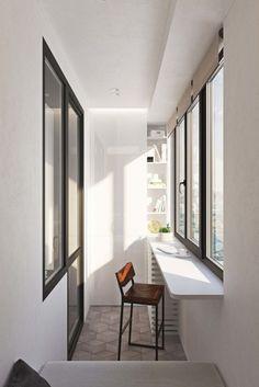 85 Super cool and breezy small balcony design ideas House Design, Veranda Interiors, Apartment Design, Interior Balcony, Home Decor, House Interior, Apartment Balcony Decorating, Home Deco, Apartment Interior