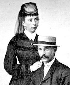 Morgan and Louisa Earp