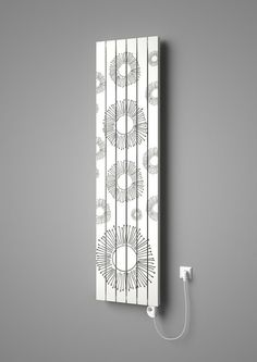 Designer radiator Vital with printed motif