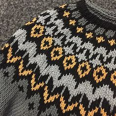Ravelry: Remley's Riddari for Caitlin Left Side Of Body, Icelandic Sweaters, Knitting Patterns, Knit Crochet, Sewing, Crafts, Diy, Templates, Ideas