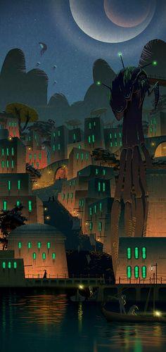 The Elder Scrolls: Morrowind - Night Suran by Lelek1980