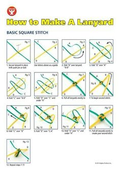Image result for plastic lanyard designs instructions for How to make a paracord lanyard necklace