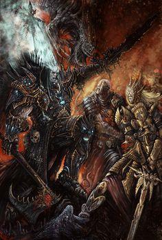 Warhammer Battle by AlexBoca on deviantART