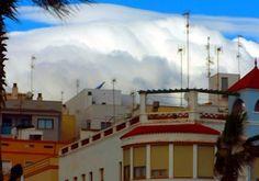 'über den Dächern von Vinaros' von peter norden bei artflakes.com als Poster oder Kunstdruck $20.79