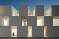 House for Elderly People, Alcácer do Sal (Portugal)  by Aires Mateus Associados