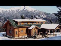 Maisons en rondins d'Ikihirsi - Maison finlandaise - chalets en rondins en provenance de la Finlande (Laponie)