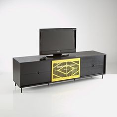meuble tv nottingham pour cran jusqu 39 52 39 39 132 cm prix promo la redoute 244 30 ttc au. Black Bedroom Furniture Sets. Home Design Ideas