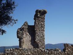 Grimaud Castle, France. 17.6.2012