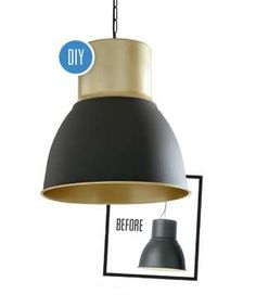 Using IKEA's HEKTAR pendant light get the step-by-step instructions here. - Style at Home