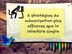 5 memorization strategies more effective than simple rereading Teaching Techniques, Study Tips, Art School, School Life, Problem Solving, Fun Facts, Activities For Kids, Coaching, How To Memorize Things