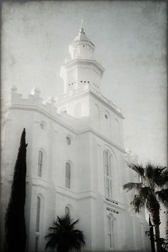 St George LDS Temple    More LDS Gems at: MormonLink.com