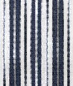 Ottoman fabric Suntex Sun Duck Navy / White Pin Stripe Fabric - $17.15 | onlinefabricstore.net