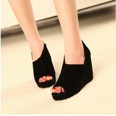 Schöne Wedge Schuhe