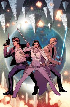 Star Wars Solicitations From Marvel Comics For June 2018 Star Wars Film, Star Wars Fan Art, Star Wars Books, Star Wars Poster, Star Wars Characters, Star Trek, Marvel Comic Books, Comic Books Art, Comic Art